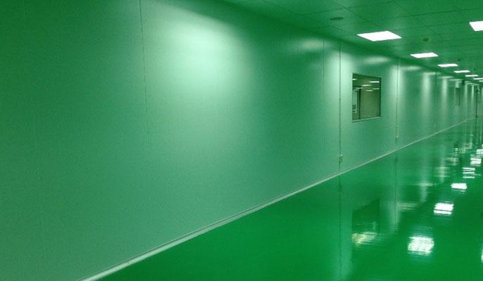 ติดตั้งห้องคลีนรูม (Clean room) - IXL Panel