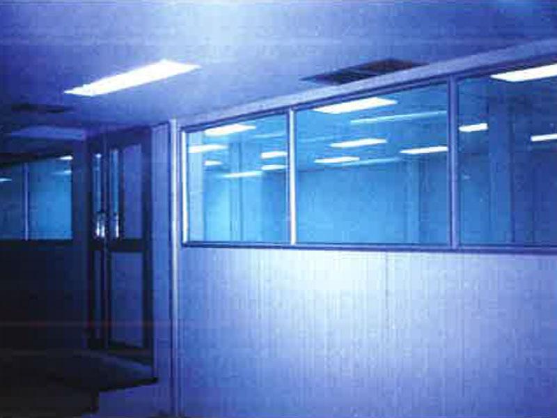 หน้าต่างอลูมิเนียม ช่องแสงติดตาย 3 ช่อง