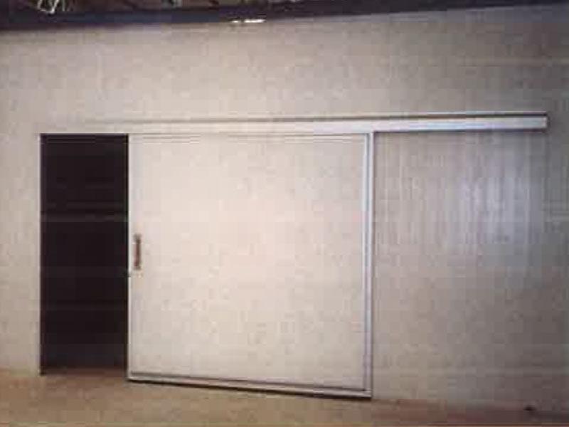 ประตูห้องคลีนรูม ห้องไลน์ผลิต sliding-door (ประตูบานเลื่อน)