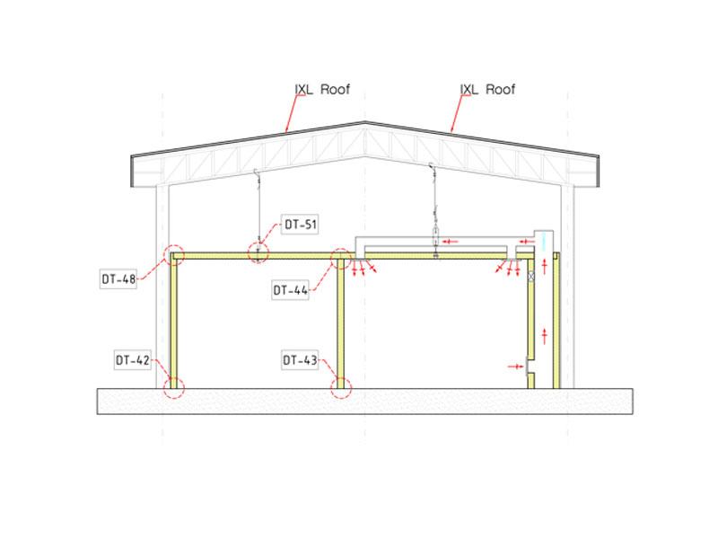 ติดตั้งคลีนรูม (Clean Room) - IXL Panel